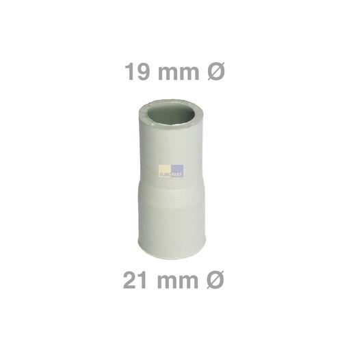 Ablaufschlauch-Adapter 21mmØ auf 19mmØ Alternative Universal! für Waschmaschine Geschirrspüler