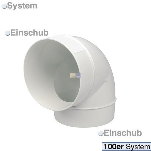 Rohrbogen 100er(R) 90°