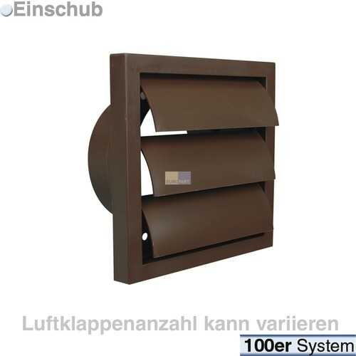 jalousie 100er r braun in k rze nicht mehr lieferbar hausger te ersatzteile zubeh r shop. Black Bedroom Furniture Sets. Home Design Ideas