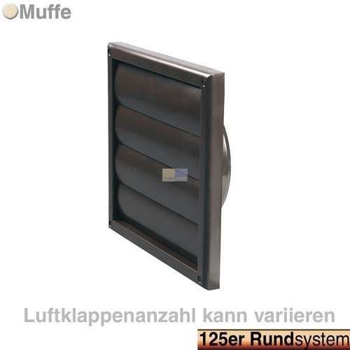 jalousie 125err braun hausger te ersatzteile zubeh r shop. Black Bedroom Furniture Sets. Home Design Ideas