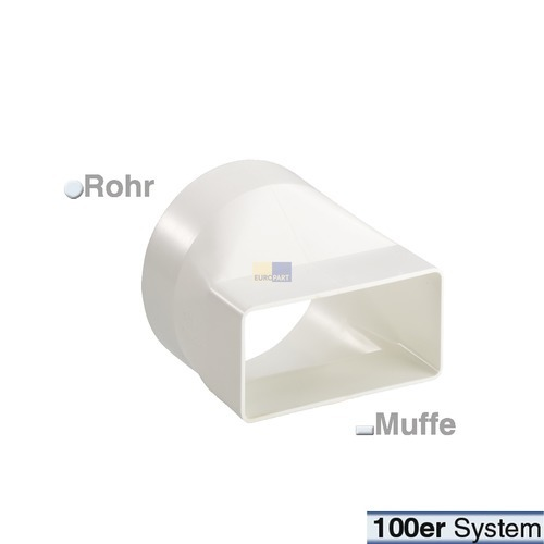 Übergangsstück 100er(FR-R)lang