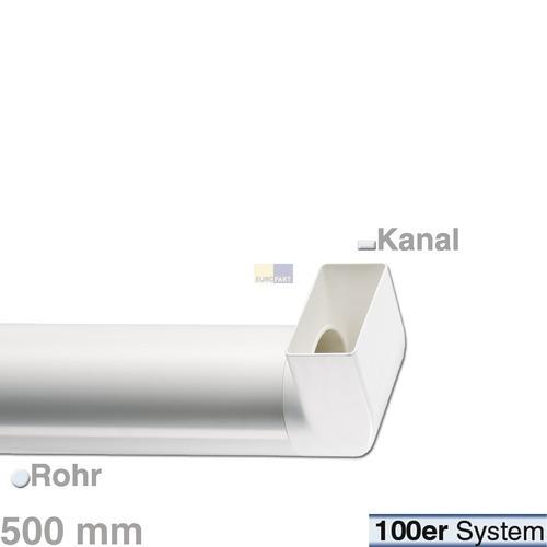 Klick zeigt Details von Umlenkstück 100er (FR-R) m Rohr