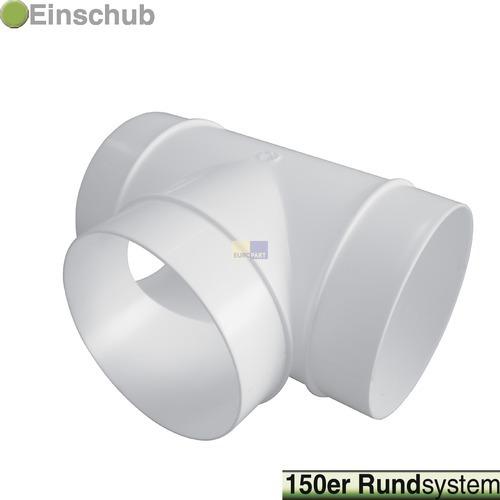 Klick zeigt Details von Rohr-T-Stück 150erR