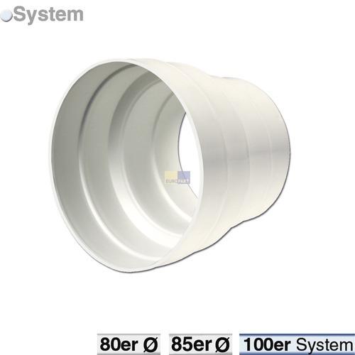 Klick zeigt Details von Abluft-Adapter 80/100erR