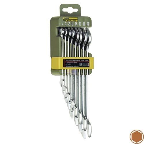 Klick zeigt Details von Gabelschlüsselsatz 8teilig Proxxon