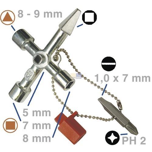 Klick zeigt Details von Allzweckschlüssel NWS