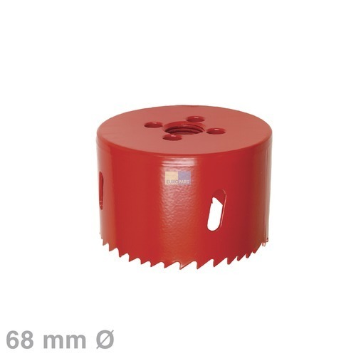 Klick zeigt Details von Lochsäge 68erØ HSS-Bimetall, für Lampenhalter
