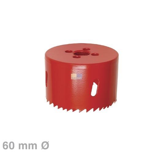 Klick zeigt Details von Lochsäge 60erØ HSS-Bimetall, für Lampenhalter,