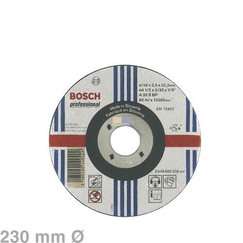 Trennscheibe 230 mm Ø für Metall Bosch