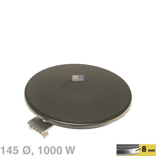Klick zeigt Details von Kochplatte 145mm, 1000W 230V  EGO 12.14453.194