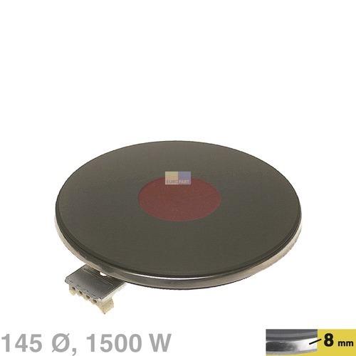 Klick zeigt Details von Blitz-Kochplatte 145mm, 1500W 230V  EGO 12.14463.196