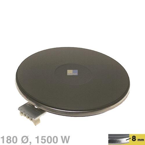 Klick zeigt Details von Kochplatte 180mm, 1500W 230V  EGO 12.18453.196