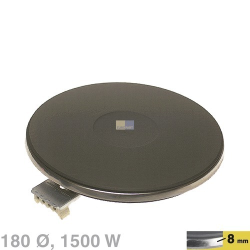 Klick zeigt Details von Kochplatte 180mmØ 1500W 400V, AT!