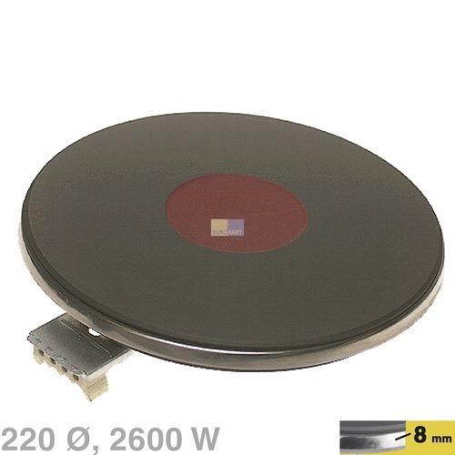 Kochplatte 220mm 2600W / 400V