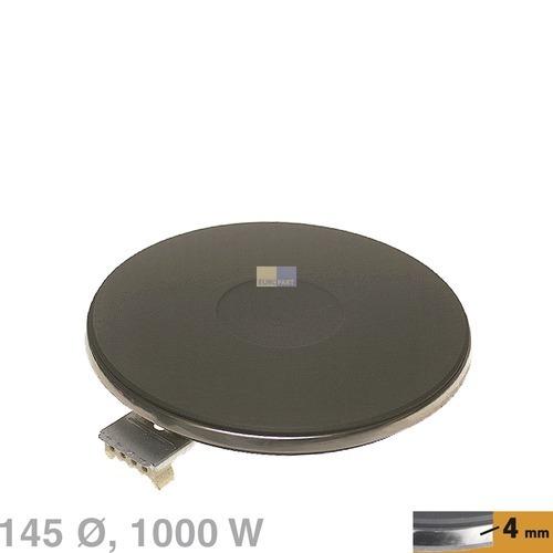 Klick zeigt Details von Kochplatte 145mm, 1000W 230V  EGO 13.14453.040