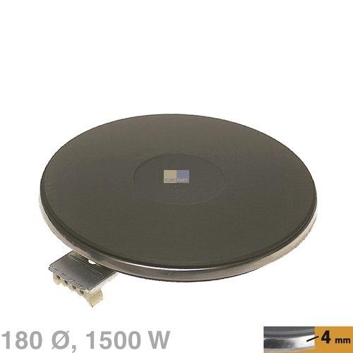 Klick zeigt Details von Kochplatte 180mm, 1500W 230V  EGO 13.18453.040