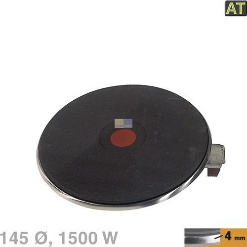 Klick zeigt Details von Blitz-Kochplatte, 145mm 1500W 230V  EGO 13.14463.040