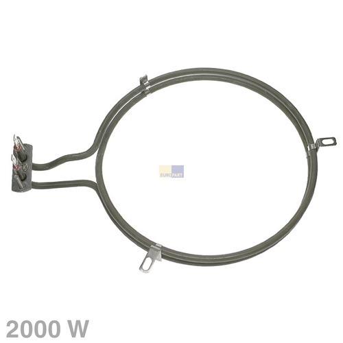 Klick zeigt Details von Heizelement Heißluft 2000W 230V