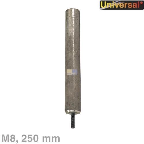Klick zeigt Details von Anode Aktivanode 250mm mit M8-Gewinde, Universal!