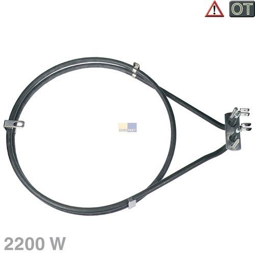 Klick zeigt Details von Heißluftheizung 2200W AEG