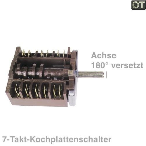 Klick zeigt Details von 7-Takt-Schalter EGO 180° vers.