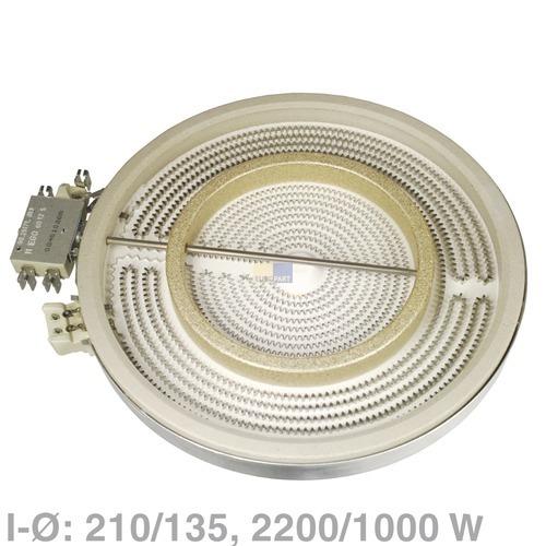 Klick zeigt Details von Elektroherd Heizung HiLight Bosch Constructa EGO Gaggenau Neff Siemens Junker&Ruh