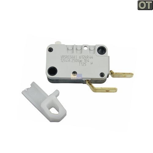 Mikroschalter dunstabzugshaube weiss 481927138069 bauknecht for Dunstabzugshaube ersatzteile
