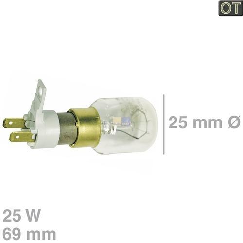 Klick zeigt Details von Lampe (MW) 25W, 230/240V