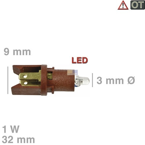 lampe backofen anzeigelampe sgf83z 3297050 miele  ~ Backofen Constructa Lampe Wechseln