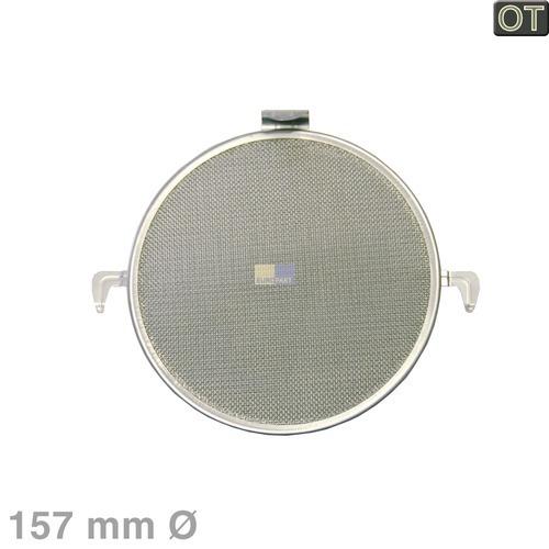 Klick zeigt Details von Fettfilter rund Metall, MIELE 5221160