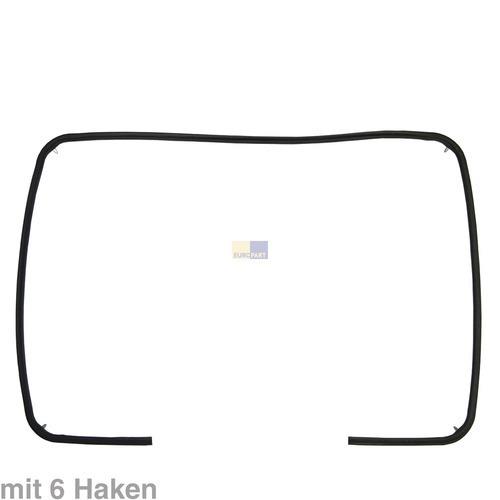 Backofentürdichtung Türdichtung rundum Bauknecht Funktionika Ignis Ikea Whirlpool Algor IKEA Integra Bossmatic Neckermann