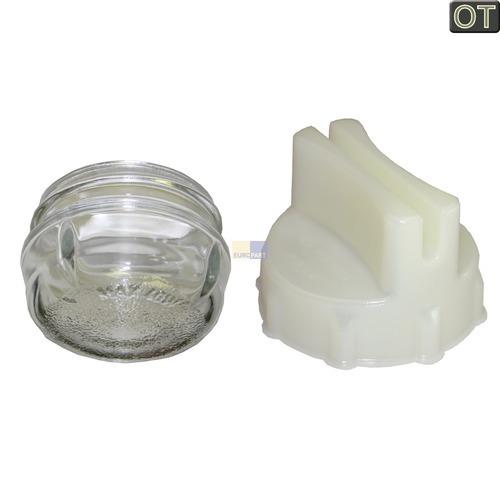 Klick zeigt Details von Lampenabdeckung Ø68mm, Glas  BO, BSH 00647309