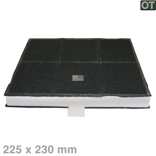 Klick zeigt Details von Kohlefilter 225x230mm