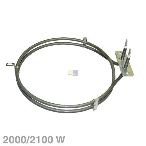 Klick zeigt Details von Heizelement Heißluft 2000/2100W 230V