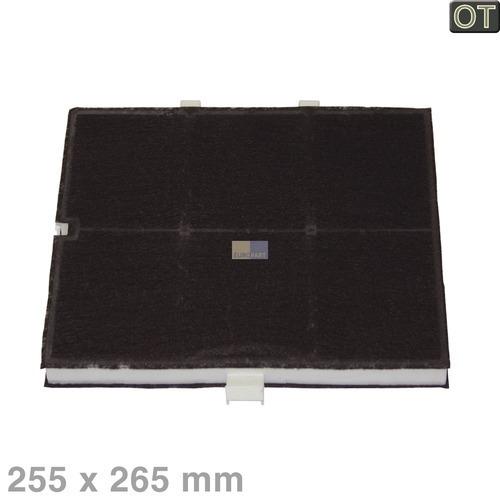Klick zeigt Details von Aktivkohlefilter Kohlefilter Bosch Neff 361047 00361047 DHZ5135 260x265x23mm