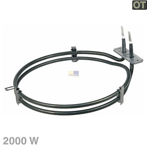 Klick zeigt Details von Heißluftheizung 2000 W, BK. 481225998406