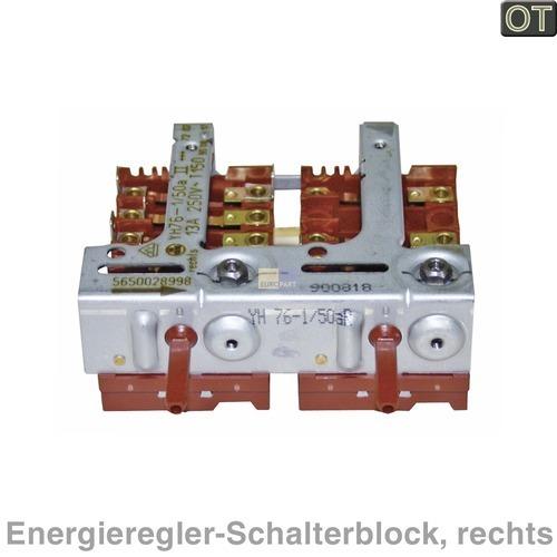 Klick zeigt Details von Energieregler-Zweierblock rechts, 490051