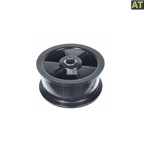Klick zeigt Details von Spannrolle AT! AEG 125012503 Reimenspannung Rolle für Trockner Wäschetrockner