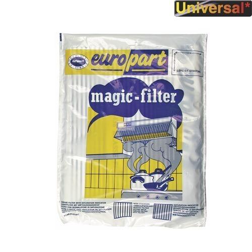 Klick zeigt Details von Fettfiltermatte 570x470mm Vliesstoff Europart, 2 Stück, Universal!