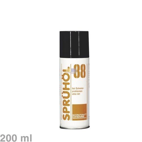 Klick zeigt Details von Spray Kontakt-Chemie Sprühöl88 200ml