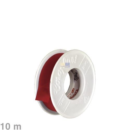 Klick zeigt Details von Isolierband rot 10m
