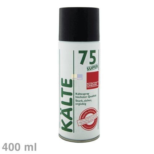 Klick zeigt Details von Spray Kältespray Kontakt-Chemie Kälte75Super 400ml