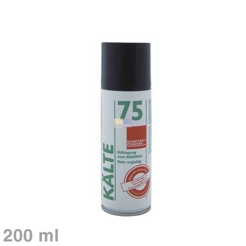 Klick zeigt Details von Spray Kältespray Kontakt-Chemie Kälte75 200ml