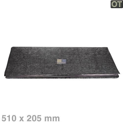 Klick zeigt Details von Aktivkohlefilter Dunstabzugshaube 510x205mm 899661912594 AEG Geruchsfilter D 01