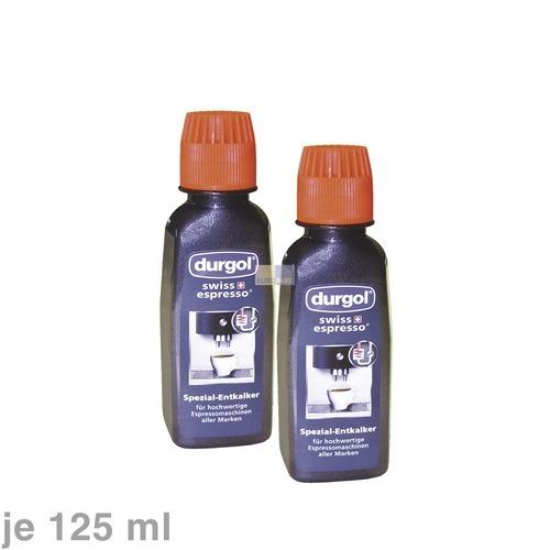 Klick zeigt Details von Kaffeemaschinen-Entkalker 2x125ml DURGOL