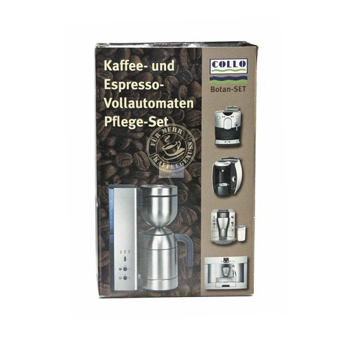 Klick zeigt Details von Kaffeemaschinen-Reiniger Collo botan, Set,