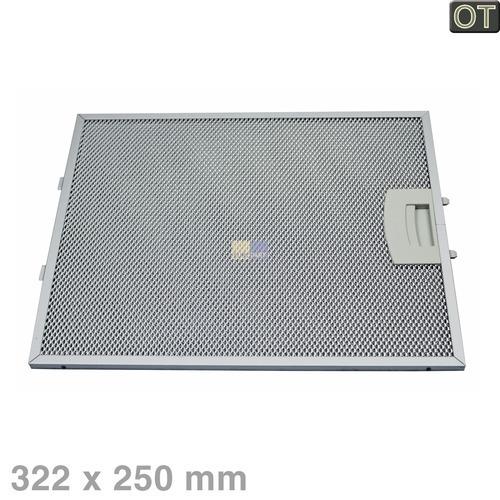 Klick zeigt Details von Fettfilter eckig Metall 250x322mm