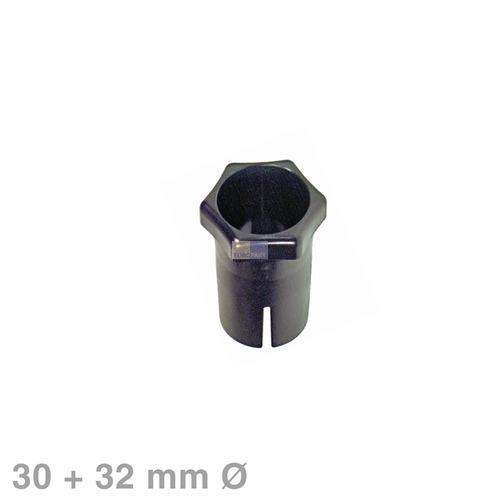 Klick zeigt Details von Staubsaugerrohr-Adapter 30mmØ auf 32mmØ