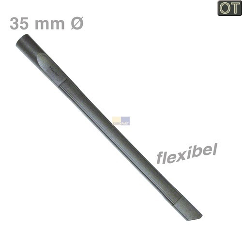 Klick zeigt Details von Fugendüse flexibel für 35mmØ Miele 7252100 SFD20 Original für Staubsauger