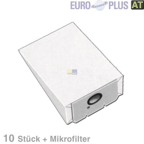 Klick zeigt Details von Filterbeutel Europlus A1015 für AEG Vampyrette 10 Stk
